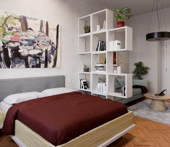 Prodej bytu 1+1, 34 m2 - Sokolovská, Praha 8