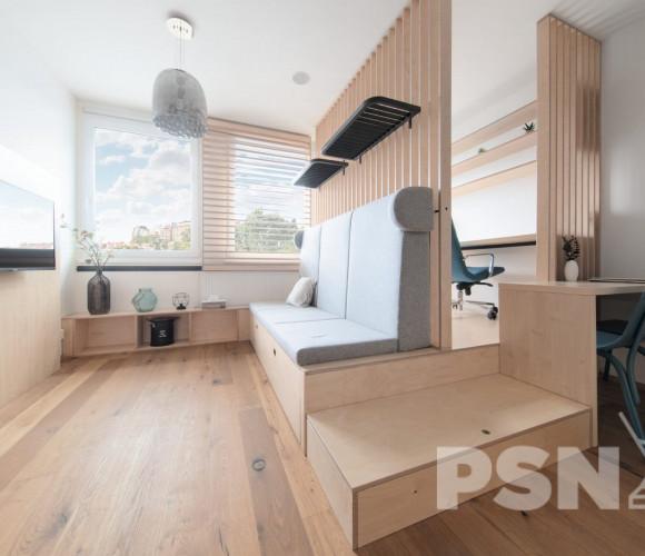 Prodej bytu 1+kk, 26 m2 - Perucká, Praha 2