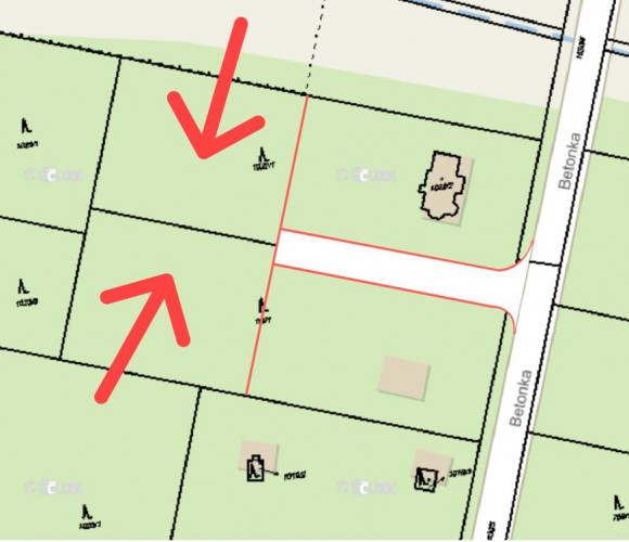 Prodej pozemku bydlení, 3034 m2 - osada Kersko, Hradištko