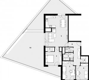 Prodej bytu 4+kk, 118 m2, Nad Vltavou, Praha 7