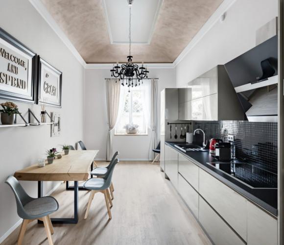 Rent flat 1+1, 62 m2 - Francouzská, Prague 10