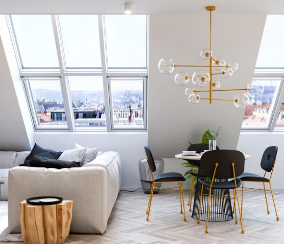Продажа квартиры 4+kk, 146 m2 - Mánesova, Královské Vinohrady, Прага 2