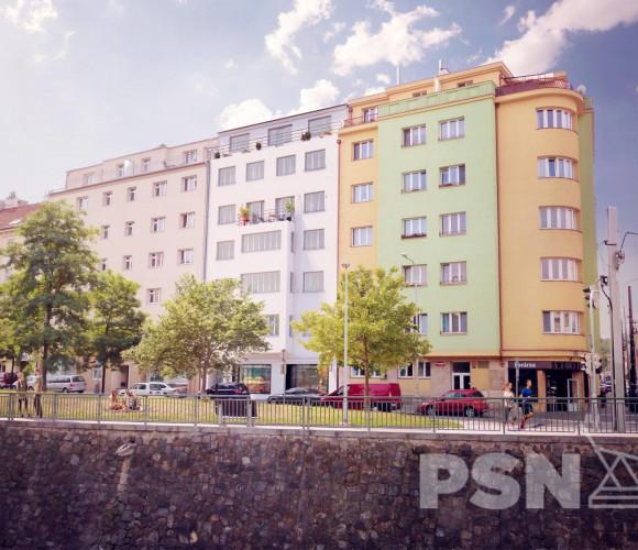 Prodej bytu 1+kk, 26 m2 - náměstí Dr. Václava Holého, Praha 8
