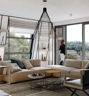 Продажа квартиры 6 и более, 246 m2 - Pod Havránkou, Резиденция Troja, Прага 7, Pod Havránkou