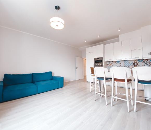 Rent flat 2+kk, 62 m2 - U Plynárny, Prague 10