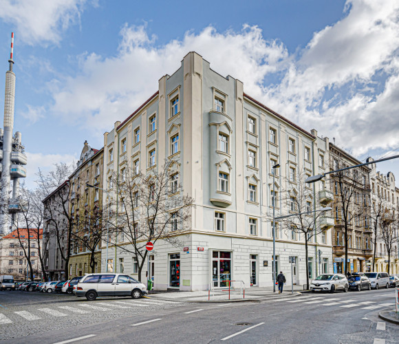 For sale flat 3+kk, 97 m2 - Slavíkova, Prague 3