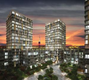 Аренда квартиры 1+kk, 42 m2 - Olšanská, Прага 3