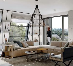 Prodej bytu 6 a více, 234 m2, Rezidence Troja, Praha 7, Pod Havránkou