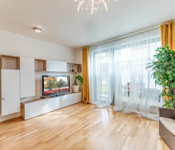 For sale flat 2+kk, 62 m2 - Nad Bání, Prague 8