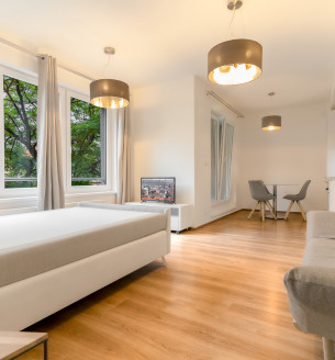 Rent flat 1+kk, 37 m2 - Petrohradská, Prague 10
