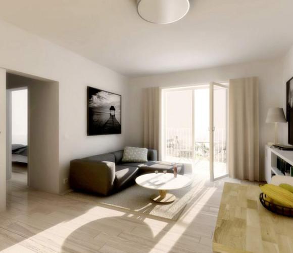 Prodej bytu 1+kk, 25 m2, Praha 9