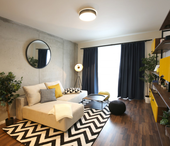 For sale flat 1+kk, 24 m2, Prague 9
