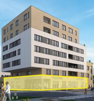 Prodej komerční obchodní prostory, 364 m2 - Janského, Praha 13