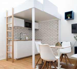 Продажа квартиры 1+kk, 25 m2 - Orelská, Прага 10