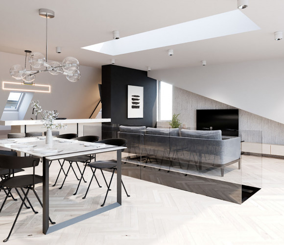 Prodej bytu 2+kk, 61 m2 - U Kanálky, Královské Vinohrady, Praha 2