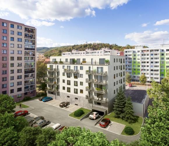 For sale flat 2+kk, 56 m2 - Na Náhonu, Beroun