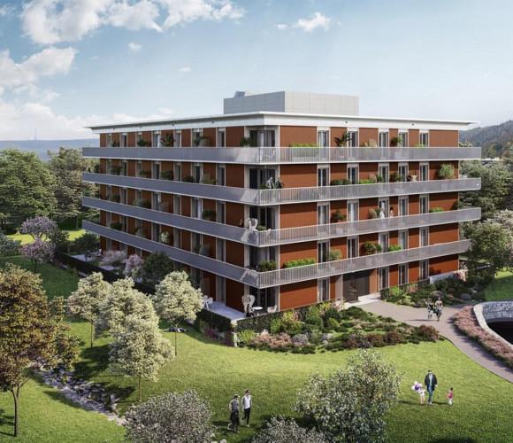 Prodej bytu 2+kk, 56 m2, RIVIÉRA MODŘANY, Praha 12, Vorařská